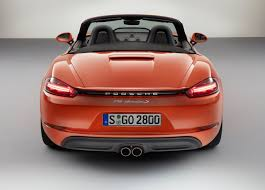 porsche boxster 2016 red new name and flat four for new porsche boxster drive life drive life