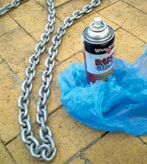 how to paint anchor chain cruising world