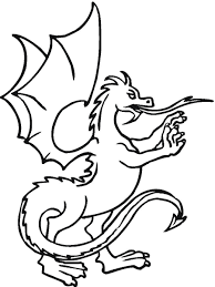 the magic dragon coloring pages