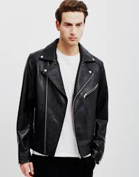 mens leather biker jacket how to style a leather jacket the idle man