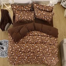 Cheap King Size Duvet Sets Online Get Cheap Leopard Duvet Set Aliexpress Com Alibaba Group