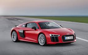 galaxy audi r8 audi r8 v10 2015 in red front and side view 3840x2400 wallpapersbyte