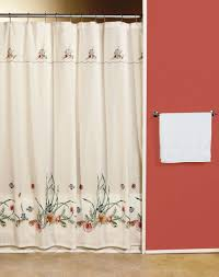seashell bathroom window curtains u2014 jen u0026 joes design beach
