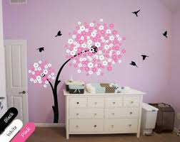 Wall Nursery Decals Tree Wall Nursery Decals Modern Mural Decor Flowers Decoration