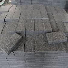 china flamed grey brown black granite g654 pavers