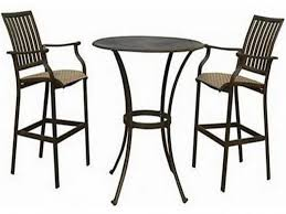outdoor cafe table and chairs popular of pub patio table furniture outdoor patio table set