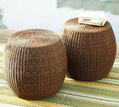 Wicker Outdoor Ottoman Wicker And Rattan Outdoor Furniture Summer Special Tim Hilda