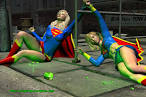 deviantART: More Like Superheroine in Peril by