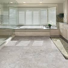 Allure Gripstrip Resilient Tile Flooring Reviews by Trafficmaster 12 In X 36 In Shale Grey Resilient Vinyl Tile