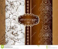Photo Card Wedding Invitations Wedding Invitation Card In Royal Style Stock Photo Image 32286160