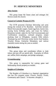 parish ministries 2017 st boniface catholic church