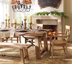 dining room tables pottery barn interior design