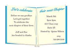 going away invitations farewell going away invitations
