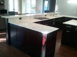 White Kitchen Cabinets With Black Island by Furniture Elegant Kitchen Island With Kraftmaid Kitchen Cabinets