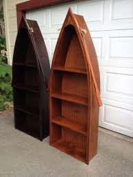 Canoe Bookcase Adirondack Furniture By Adk Rustic Interiors Specializing In Log