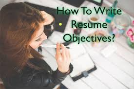 resume objective examples write resume objective statement