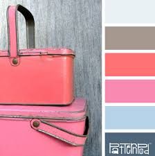 pink color combination gray pink orange blue color love pinterest