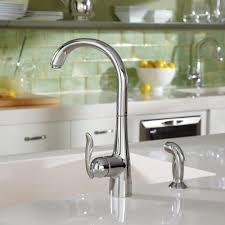 touch free kitchen faucet venetian hands free kitchen faucet wall mount two handle side