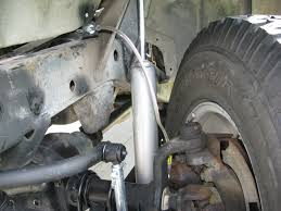 jeep jk suspension diagram jeep yj extended brake lines goodridge part d fbl 47 youtube