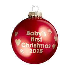Baby S First Christmas Bauble Pink by Babies First Christmas Learntoride Co
