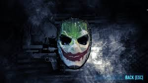 payday 2 halloween masks steam community guide joker batman mask guide