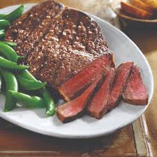 tangy lime grilled top round steak beef recipes