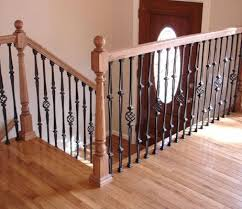 metal landing banister and railing should i replace my wood railing with metal google search