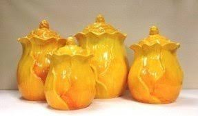 tuscan kitchen canisters sets yellow canister set foter