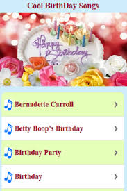 cool birthday songs android apps on google play