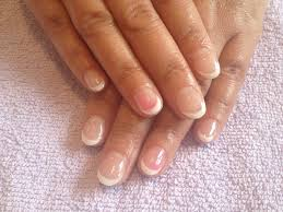glamour nails gel extension glitter