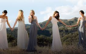 really simple yet delicate dresses for bridal party luckybridesmaids
