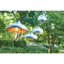 Patio Cafe Lights by Hampton Bay String Lights Outdoor Lighting The Home Depot