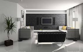 interior design black and white living room modern interior design