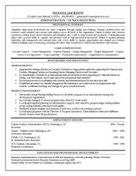 Business Administration Resume Examples by Hr Administrator Resume