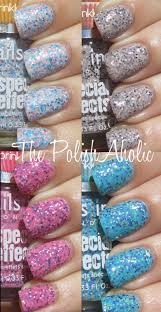 the polishaholic nails inc sprinkles collection swatches