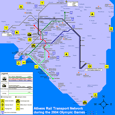 Dc Metro Rail Map by Urbanrail Net U003e Europe U003e Greece U003e Athens Athina Metro