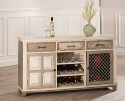 console table with wine storage hillsdale larose console table with 2 door storage and wine rack