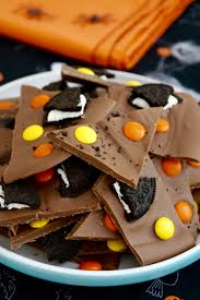 halloween chocolate bark what jessica baked next