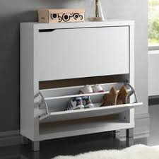 Winslow White Shoe Storage Cubbie Bench Entryway Shoe Storage Cubbies
