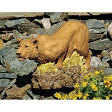 lioness statue lioness statue tapestry zest