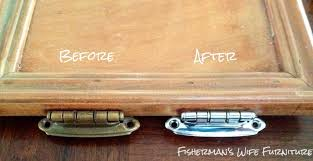 How To Paint Kitchen Cabinet Hardware Fisherman U0027s Wife Furniture Hinges U0026 Knobs