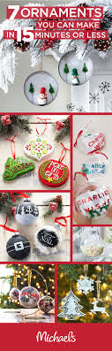 handcrafted ornaments are a great way to add a special touch to