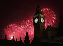 new year 2015 live britain counts to and edinburgh