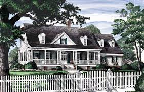 southern colonial house plans hahnow