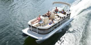 sunchaser pontoon boats making waves creating memories