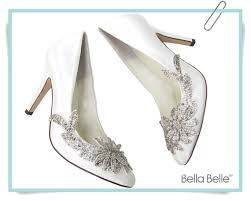 wedding shoes embellished white embellished wedding shoes with vine applique beading