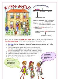 present simple vs present continuous reading comprehension