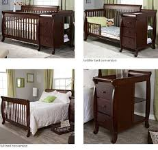 Baby Cribs 4 In 1 Convertible Davinci Kalani Crib And Changer Combo Tobins