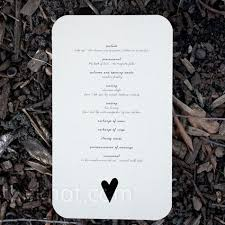 Simple Wedding Ceremony Program Best 25 Homemade Wedding Programs Ideas On Pinterest Program T