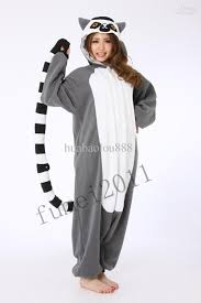 racoon animals cosplay pajamas pyjamas onesie jumpsuit costume